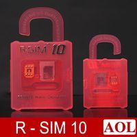 Wholesale New Cdma Mobiles - DHL free New Unlock Card ios8 ios 8 R-SIM R SIM RSIM 10 Perfect unlock iphone 6 plus iphone 6 5s 5 plus AT&T T-mobile Sprint WCDMA GSM CDMA