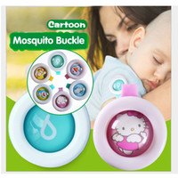 Wholesale Control Mosquitoes - Anti-mosquito Button Cute Cartoon Mosquito Repellent Clip Adults Kids Summer Non-toxic Mosquito Repellent Buckle Pest Control via