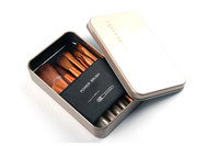 Wholesale Makeup Brushes 12 Pieces - Makeup Brushes Nude3 12 Pieces Professional Cosmetic Brush Sets Makeup Brushes Sets with Iron Box