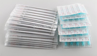 Wholesale Tattoo Mix Disposable Tubes - Wholesale-(5RM+5FT)Tattoo Needles and Tubes Mixed 100PCS of 50PCS Sterile Tattoo Needles+ 50PCS Disposable Tattoo Tips Free Shipping