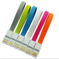 carregador de ímã universal venda por atacado-22 cm ímã flat curto micro usb cabo carregador cabo curto para samsung s7 s6 edge htc lg universal