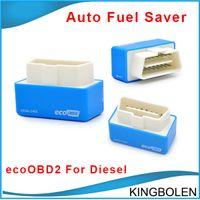 Wholesale Ecu Tuning For Car - High Quality EcoOBD2 Diesel Car Chip Tuning Box Plug and Drive OBD2 Chip Tuning Box Lower Fuel and Lower Emission for diesel Free Shipping