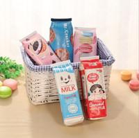 Wholesale Kawaii Fabric - New Creative Cute Kawaii Cookies Pencil Bags Colorful PU Cases Wholesale