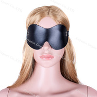 Wholesale Sex Products Blindfold - Black Sex Blindfold Eye Mask, Sleeping Mask, Sex Games, Sex Products, Bondage Retraints Hot Selling Free Shipping