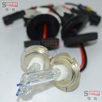 Wholesale Hid 75w H11 - 1Pair HID XENON Headlight Bulbs 75w hid bulb 12v 6000k 8000k Car Auto H7 H4 H1 H3 H11 9005 9006 H8 H9