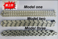 Wholesale Bike Single Speed - One PC Fixed Gear Bike Chains Fixed Gear Track Cycling Bicycle Chain Single Speed Chain Magic Button Chains Bike Accessories for Wheels