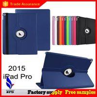 ipad magnethalter großhandel-PU-Ledertasche Ständer Halter Ledertasche Smart Cover Magnet Folding Klapp Flip für iPad Pro 12,9 Zoll