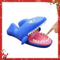 Juguetes divertidos Shark Dentist Bite Finger Game Funny Novetly Shark Tooth Toy para niños regalo