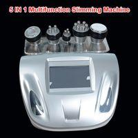 Wholesale Strong Slimming Cavitation Machine - Effective Strong 40K Ultrasonic cavitation Vacuum Slimming Machine bipolar multipolar RF skin Firm body lift red photon machine