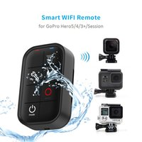 Wholesale Remote Control Gopro Hero - Freeshipping 1M Waterproof Smart WIFI Remote Control Set Controller Charging Cable For GoPro Hero 6 5 4 Session 3+