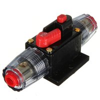 Wholesale 12V DC Car Audio Inline Circuit Breaker Fuse for System Protection A AMP order lt no track