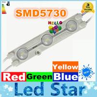 Wholesale letters led lights - super bright ABS Led Module 12V Light SMD 5730 (5630) Led Chip Light Waterproof IP65 Led Channel Letter