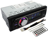 US Stokc Ship de Estados Unidos Pandamoto Car Multi-Functional Player Nueva FM y MP3 receptor de radio estéreo Aux con puerto USB y SD CardSlot