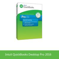 Wholesale Desktop Windows - Intuit QBooks Desktop Pro 2016 full version English language for win&MAC enterprise accounting software full version