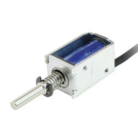 Wholesale Dc Frame Solenoid - Pull Type Open Frame Actuator Electric Solenoid DC 12V 2mm 100g 1N