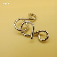 Wholesale Precision Numbers - Number 8 Ring Puzzle Metal Wire Toys Designed To Work With Precision