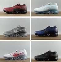 Wholesale Checkered Shoes For Women - New Vapormax 17COLOR Running Shoes For Men Sneakers Women Fashion Athletic Sport Shoe Corss Hiking Jogging Walking Vapor Maxes Outdoor Shoes