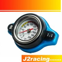 Wholesale J2 RACING STORE D1 Spec RACING Thermost Radiator Cap COVER Water Temp gauge BAR Cover For Honda SUZUKI PQY DRC11