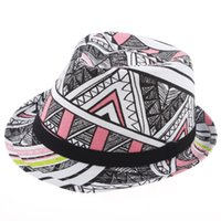 Wholesale Wholesale Canvas Cowboy Hats - Fashion City Line KIDS canvas Hat Baby canvas Cowboy Hat Boys Girls Fedoras Jazz cap 10pcs