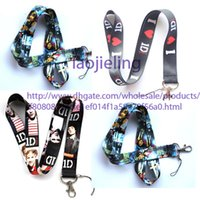 Wholesale One Direction Phone Lanyard - NEW Wholesale 20 pcs ONE DIRECTION Neck Lanyard for MP3 4 cell phone DS lite Phone Accessories Free shipping