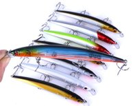 Wholesale minnow lure vmc online - 3 VMC Hooks Laser Minnow Artificial Fishing bait cm g Quickly flutter Slow Sinking lure fishhooks