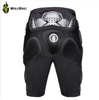Wholesale Off Road Armor - WOLFBIKE Hockey Motorcycle Armor Shorts Off-road Motorcross Downhill Mountain Bike Skating Extreme Sport Protective Gear Hip Pad new arrive