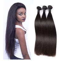 Wholesale Mixed Pieces - Brazilian Hair Straight Bundles Virgin Hair Human Hair 3 Pieces Bundles 8-30inch Natural Color Malaysian Peruvian Indian Cambodia 10a Grade