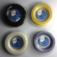 Wholesale Gut Strings Tennis - Luxilon tennis string Alu power rough 125 best price polyester luxilon tennis gut 200m reel big banger tennis strings silver 16L 1.25mm