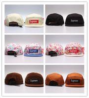 Wholesale caps hip hop style resale online - Newest Style Five panel diamond snapback caps hip hop cap flat hat hats for men casquette gorras planas bone aba reta toca