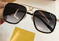 Wholesale Case Plates - 0947 Sunglasses Luxury Popular Retro Vintage Men Brand Designer 0947U Sunglasses Shiny Gold Summer Style Laser Logo Gold Plated With Case