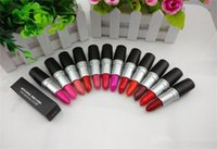 Wholesale lipstick 24 colors matte online - HOT New Makeup Luster Lipstick Frost Lipstick Matte Lipstick g colors English name DHL above