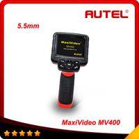 "Wholesale Endoscope Camera Lcd - Autel Maxivideo MV400 Digital Inspection Diagnostic Videoscope Camera Boroscope Endoscope 5.5mm diameter Imager Head 3.5"" LCD free shipping"