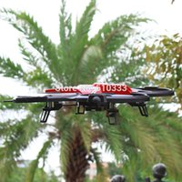 Wholesale Large Remote Controlled Helicopters - Wholesale-JJRC F182 2.4Ghz UFO rc quadcopter 4CH Large radio remote control drone helicopter More stable than U818A