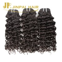 Wholesale Italian Curl Weave - Brazilian Curly Wave Big Curly Virgin Hair 3pcs Italian Wave Jerry Curl Hair Weave Bundles Unprocessed Human Hair Extension