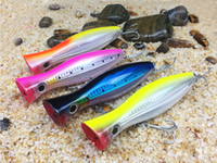 Wholesale fishing lures for sale for sale - Big Fishing Lure Popper Saltwater Lure Handmade Bait Hook Fishing Bionic Baits Lures for Sale