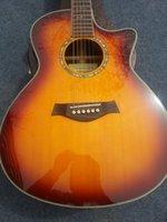 Wholesale Double Neck Guitar Sunburst - China Guitar factory new arrival TY 816ce acoustic electricFISHMAN EQ
