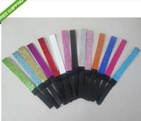 Wholesale U Choose - NEW hot selling 60pcs GLITTER HEADBANDS Team Sports Glittery Headband U Choose Sparkle