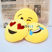 All People Cute Fun Emoji Pillow Round Soft Emoji Pillow Yellow Round Cushion Expression Styles Christmas Present Smiley Sad Multi Emotion Pillows cute fun