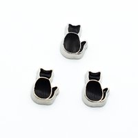 Wholesale Graduation Floating - fashion charms Graduation cap floating charms for glass locket cat's back floating locket charms