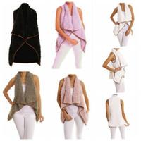 Wholesale hoodie vest women - women winter Sherpa Jacket Fashion Vest Autumn Winter Warm Hoodie Outwear Casual Coat winter warm jacket LJJK830