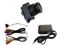 Wholesale Low Lux Mini - New 4-24V mini size 520TVLine 90 deg view audio color camera 0.008 low Lux