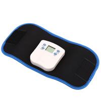 Wholesale Massage Belly Belt - New Style Lose Weight Body Electronic Muscle Arm Leg Waist Massage Slimming Belt Fat Burning Belly Vibrator 00845