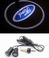 ingrosso luci di fuoco di fuoco di fuoco-Led 7W Car Logo Door Light per Ford S-MAX Focus Mondeo Proiettore Ghost Shadow 3D