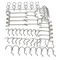 organize store - Hot Sale Pegboard Display Hooks Assortment Kit Store Organizing Tools order lt no track