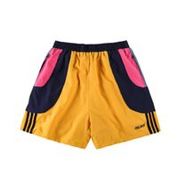 Wholesale Wild Hips - new summer Korean High Quality PALACE wild rock track men Hip-Hop shorts Skateboards starry sky flowers color Sports leisure shorts S-XL