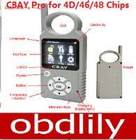 toyota kopya anahtarlı programcı toptan satış-2015 CBAY El-held Araba Anahtarı Kopyalama Oto Anahtar Programcı için 4D / 46/48 Cips 4D Anahtar Programcı 468 ANAHTAR PRO III için Değiştirme