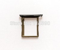 Wholesale Zte Z5s - Wholesale-Original Sim Card Holder Tray Card Slot for ZTE Nubia Z5S NX503A free shipping