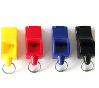 Wholesale Funny Football Soccer - Cospaly toy EDCGEAR fox40 Whistle Plastic FOX 40 Soccer Football Basketball Hockey Baseball Sports Classic Referee Whistle Survival Outdoor