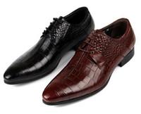neue schuh europäische stile großhandel-Neue ankunft 2015 Echtes Leder amerikanischen Europäischen Stil Oxfords Schuhe Casual Männer kleid Schuhe männliche hochzeit schuhe oxford plattformen