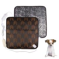Wholesale Warm Dog Blankets - 1 PCS Pet Dog Cat Waterproof Electric Heating Pad Heater Warmer Mat Bed Blanket